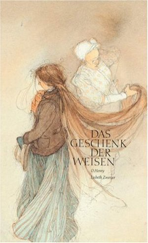 'Das Geschenk Der Weisen', the German translation of O. Henry's 'The Gift of the Magi.' Transformed into an wondrously beautiful children's book by Lisbeth Zwerger's watercolour illustrations.