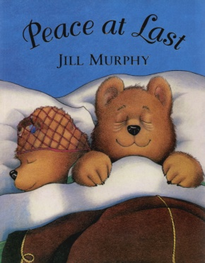 The picture book that got me thinking: Jill Murphy's 'Peace at Last,' published by Macmillan Children's Books.