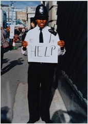 'Help' © Gillian Wearing, courtesy Maureen Paley/ Interim Art, London